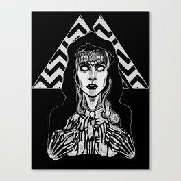 She's Filled with Secrets - Laura Palmer - Twin Peaks Canvas Print