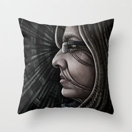 BT Looking Left Throw Pillow