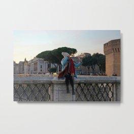 Selfie in Rome Metal Print