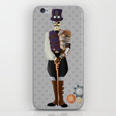 Steampunk Skeleton iPhone & iPod Skin