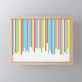 Digital Analysis Framed Mini Art Print