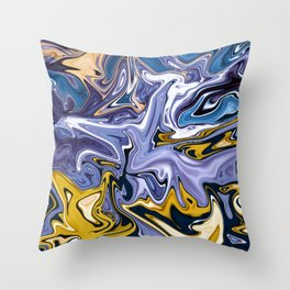 Honey Moonlight Throw Pillow