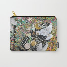 Leopard confetti world peace Carry-All Pouch