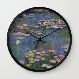 "Claude Monet ""Water lilies"" (12) Wall Clock"