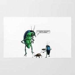 Dung Beetles Rug