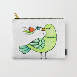 Pomegranate Branch Carry-All Pouch