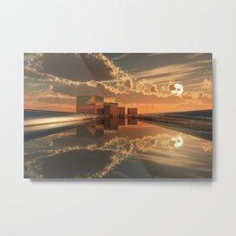 Q-City Five Metal Print