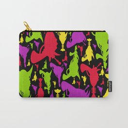 Retro Raygun Pattern Carry-All Pouch