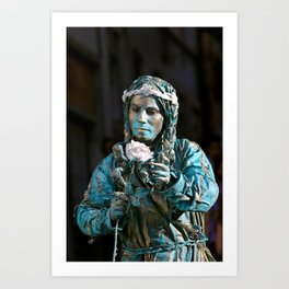 live statue Art Print