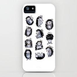 Hedgehogs Days iPhone Case