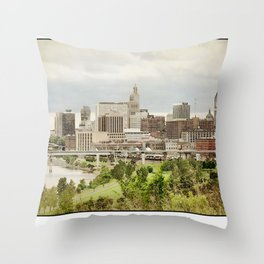 St. Paul Minnesota Throw Pillow