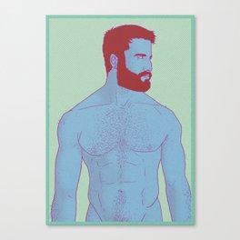 Cold skin Canvas Print