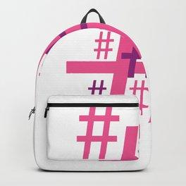 Hashtag Backpack