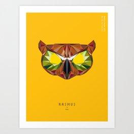 Hotline Miami Rasmus Art Print