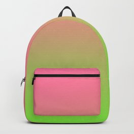 NEW ENERGY - Minimal Plain Soft Mood Color Blend Prints Backpack