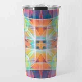 Fractal Prism Travel Mug
