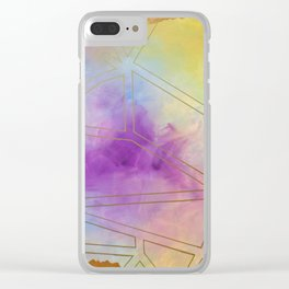 Dreaming with your eyes wide open Clear iPhone Case