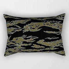 Tiger Camo Rectangular Pillow
