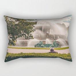 Fountain View 2 Rectangular Pillow