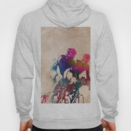 cycling sport art #cycling #sport Hoody