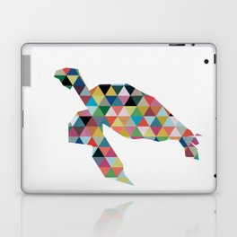 Colorful Geometric Turtle Laptop & iPad Skin