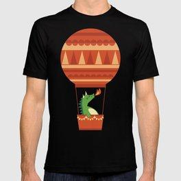 Dragon On Hot Air Balloon T-shirt