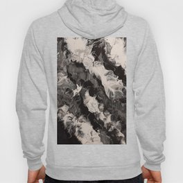 Black, White, and Grey 38 Hoody