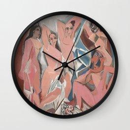 Pablo Picasso - Les Demoiselles d'Avignon Wall Clock