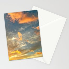 Scenic Sunrise Sunset Clouds Sky Stationery Cards