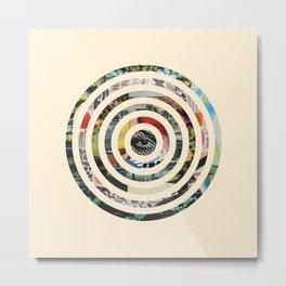 Circles. Metal Print