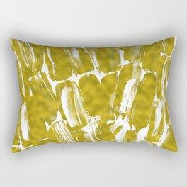 Gold Sugarcane Rectangular Pillow