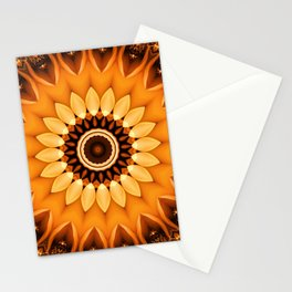 Mandala egypt sun no. 2 Stationery Cards