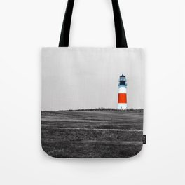 Sanity Head Lighthouse, Nantucket Tote Bag