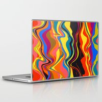 african Laptop & iPad Skins featuring African Heat by Matthias Hennig