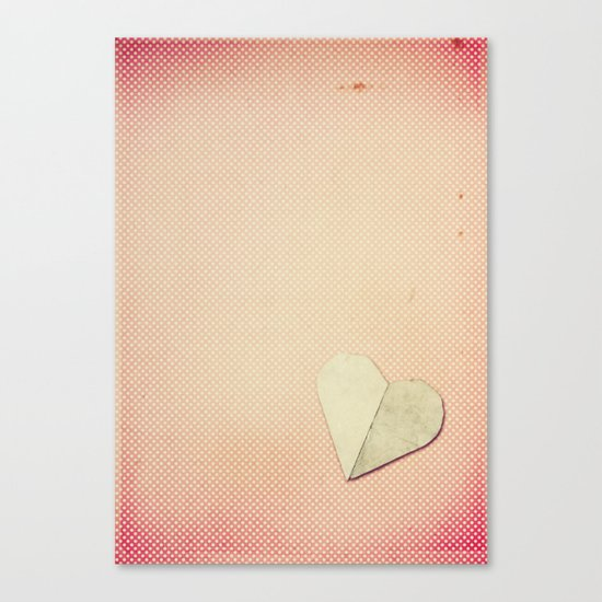 Just My Heart Canvas Print