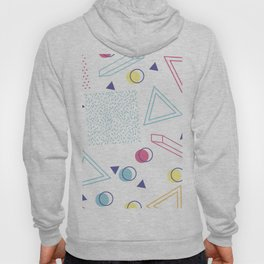 CUTE 80S INSPIRED GEOMETRIC PATTERN Hoody