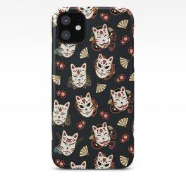 Kitsune Mood Masks iPhone Case