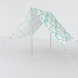 Daisy Hex - Turquoise Sun Shade