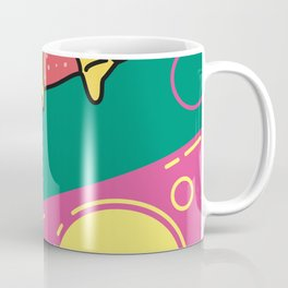 80s Pizza Party Coffee Mug