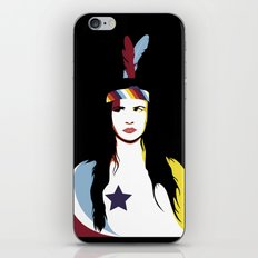 =Juliette Lewis///Black= iPhone & iPod Skin