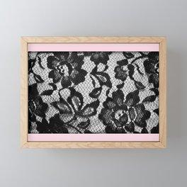 Lacy 2 Framed Mini Art Print