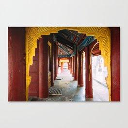 Yangon, Myanmar – The Gilded Pagoda Canvas Print