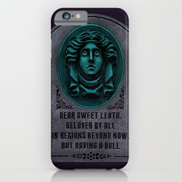 Madame Leota Gravestone iPhone Case