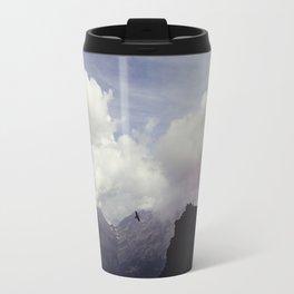 clouds over mountains Travel Mug