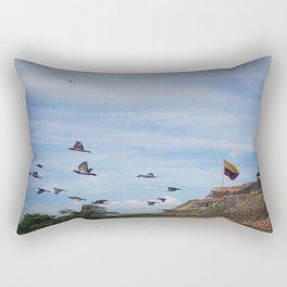 Castillo San Felipe Cartagena Rectangular Pillow