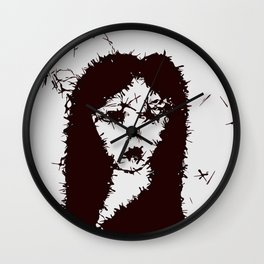 Mysterious Gothic Lady Wall Clock