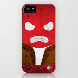 Mr. Redd iPhone Case