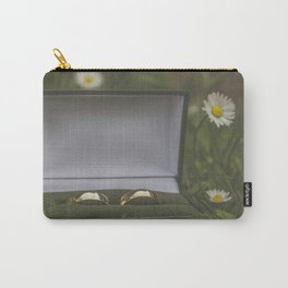 Wedding Rings. Carry-All Pouch