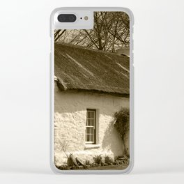 Thatched Cottage Omagh Tint Clear iPhone Case