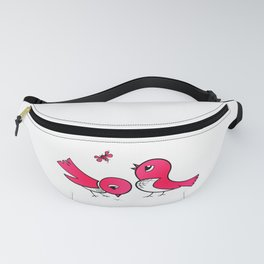 Cute little birds Fanny Pack